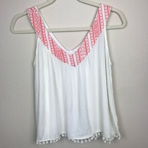 UMGEE USA WOMENS SMALL TANK TOP SHIRT WHITE